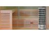 Финская сауна с электропечью Frank F 874 (230x170x210)